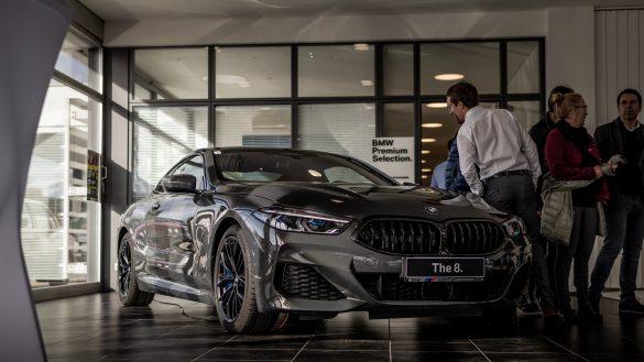 Der neue BMW 8er im Autohaus BMW Harmtodt