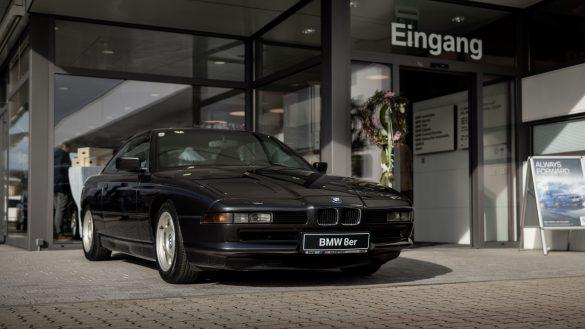 Der erste BMW 8er im Autohaus BMW Harmtodt