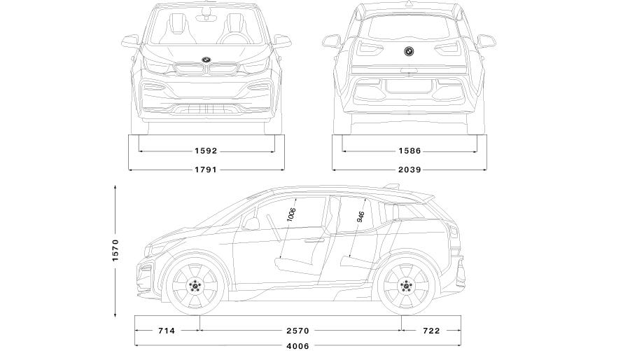 Technische Daten BMW i3