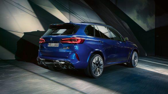 BMW X5 M Heck
