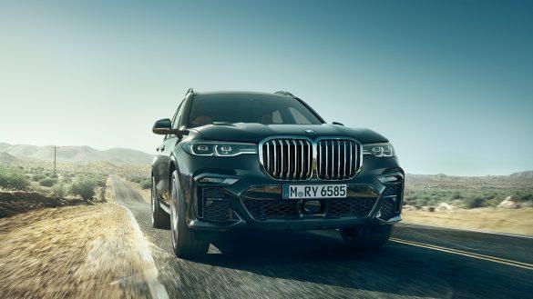 BMW X7 Fahrdynamik