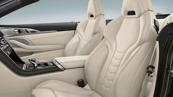 BMW 8er Cabrio Multifunktionssitze für Fahrer und Beifahrer