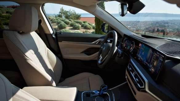 BMW i4 Raumkomfort